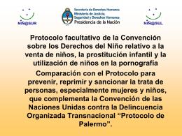 Protocolo facultativo de la Convención sobre los Derechos del Niño