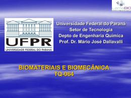 Biomateriais e Biomecânica - GEA