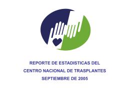 total - Centro Nacional de Trasplantes