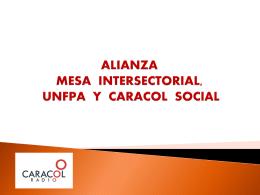 propuesta salud sexual y reproductiva alianza unfpa y caracol social