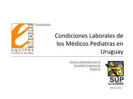 Encuesta - Sociedad Uruguaya de Pediatria