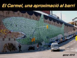 El carmel - Ajuntament de Barcelona