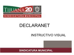 Instructivo Declaranet 2011