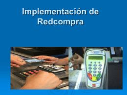 Implementación de Redcompra - Departamento de Industria y