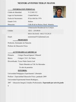 Presentación de PowerPoint - Universidad deportiva del Sur