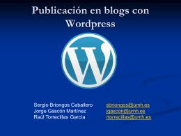 Curso de blogs