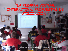 Pizarra virtual interactiva