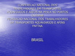 CONFERECAO NACIONAL DOS