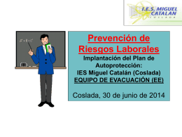Equipo de evacuación (IES MC)