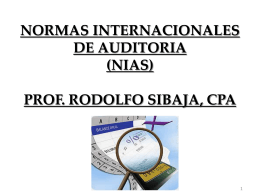normas int auditoria b