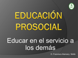 educacion prosocial