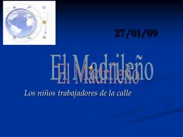 El MADRILLEÑO 27/01/09