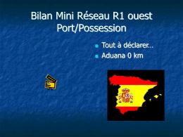 Réseau R1 Le Port/La Possession