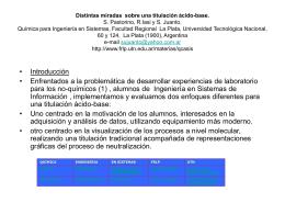 titulación ácido-base - Facultad Regional La Plata