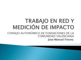 Trabajo en red y mediación de impacto