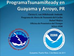 TsunamiReady - Red Sísmica de Puerto Rico