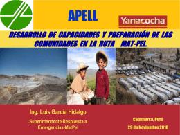 cajamarca - Programa de las Naciones Unidas para el Medio