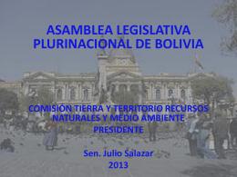 Comisión Tierra territorio RRNN -Julio Salazar