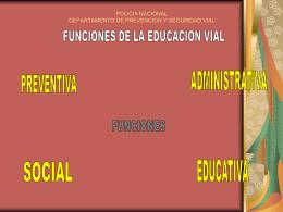 policia nacional departamento de prevencion y educacion