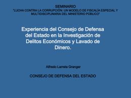 """seminario """"lucha contra la corrupción: un modelo"""