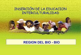 inserción de la educacion interculturalidad