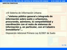 FOMENTO-PPT - presentación del portal del sistema de información
