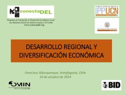 Desarrollo Regional y Diversificación Antofagasta 2014