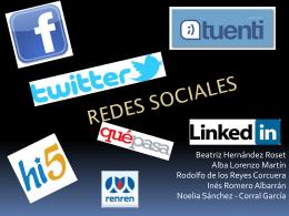 Redes sociales 111.