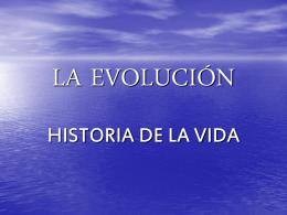 LA EVOLUCIÓN - ies hoces del duratón