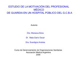 Monografía del Curso de Gerenciamiento de Organizaciones