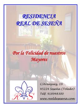 RESIDENCIA REAL DE SESEÑA