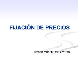 Fijacion_de_Precios - Centro de Libre Competencia UC