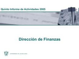 8. Informe Dirección de Finanzas.