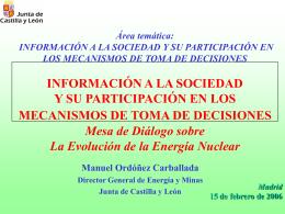 La comunicación y la información