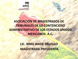 descargar - Asociación Mexicana de Impartidores de Justicia