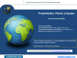 Diapositivas - GlobalContable.com