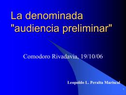 Leopoldo L. Peralta Mariscal - Colegio Público de Abogados de