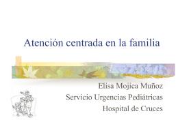 Atención centrada en la familia - EXTRANET