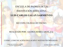 Escuela de padres de la institución educativa Luis