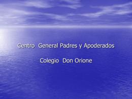 Centro General Padres y Apoderados