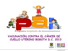 Presentacion a padres y rectores VPH