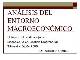 análisis del entorno macroeconómico