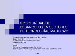 capacidad tecnológica - Campus Virtual