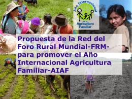Presentación del AIAF en Bolivia