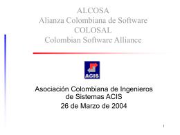 colosal - Asociación Colombiana de Ingenieros de Sistemas