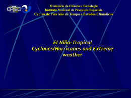 Climate Assessment 1998, BAMS, 1999.