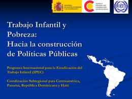 Ponencia OIT/IPEC