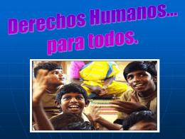 Derechos Universales de los Niños Niñas y Adolescente