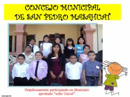 CONCEJO MUNICIPAL DE SAN PEDRO MASAHUAT