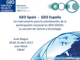 GEO España - GEPW-7 Home